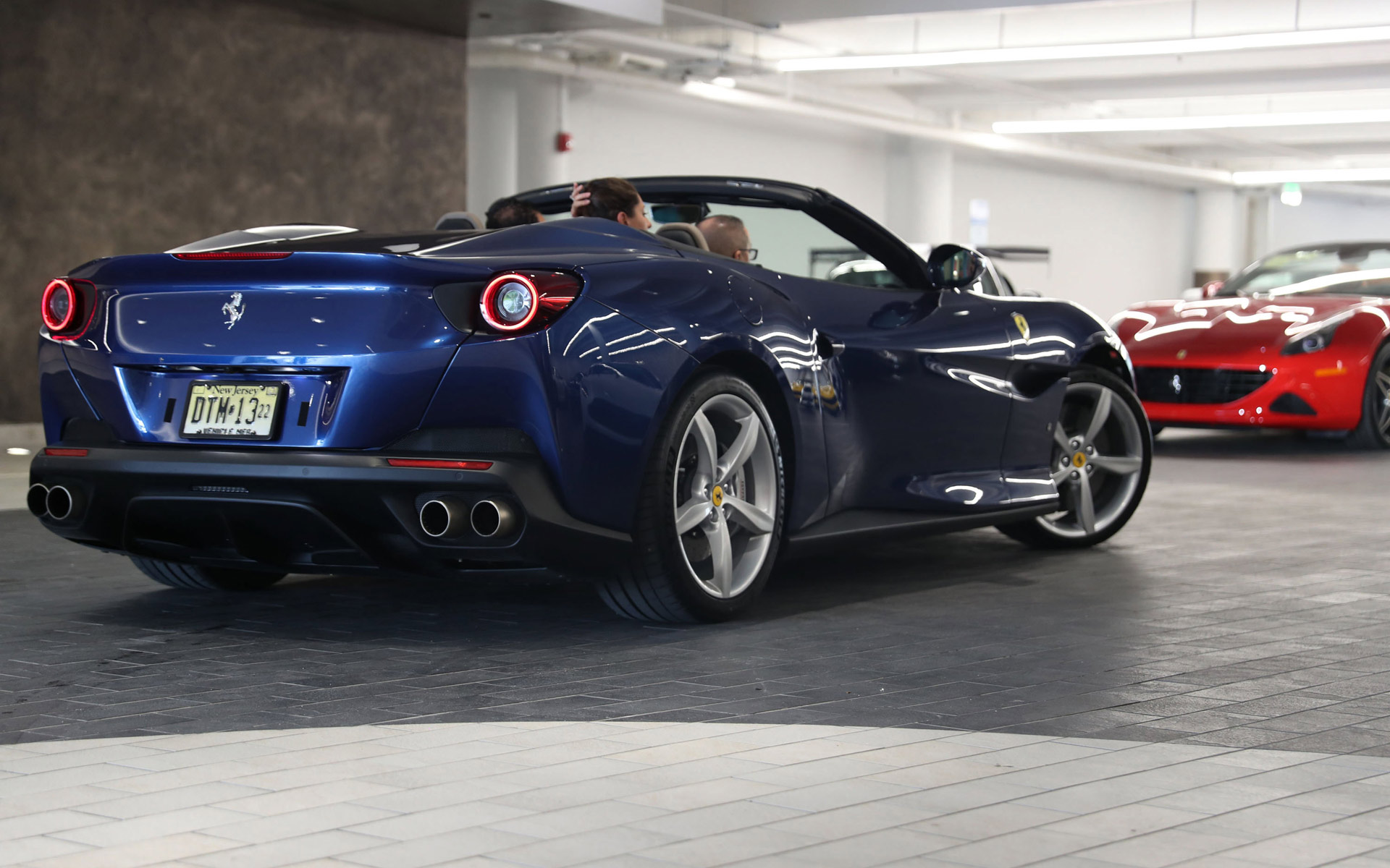 The Collection Hosts Ferrari Portofino Launch Event Kenneth Gorin